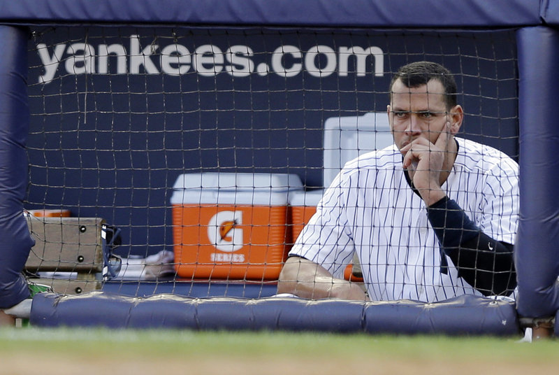 Alex Rodriguez, who is expected to be accused of recruiting others to a Miami drug-dispensing clinic, is almost certain never to wear the Yanks' pinstripes again.