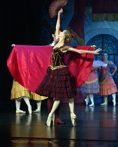 """Maine State Ballet will perform """"Don Quixote"""" at its theater in Falmouth beginning on Friday."""
