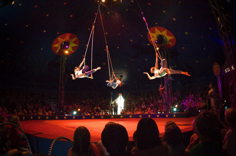 Circus Smirkus, the international youth circus, returns to the Merriconeag Waldorf School in Freeport Monday and Tuesday.