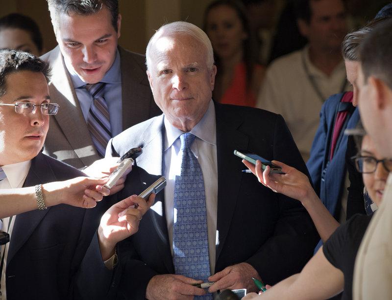 Republican Sen. John McCain