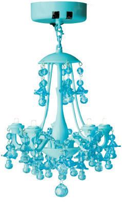 Locker chandelier, $24.99
