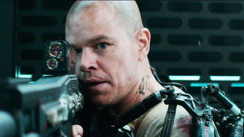 """Matt Damon is on a mission to save the world in the 22nd century in """"Elysium."""""""