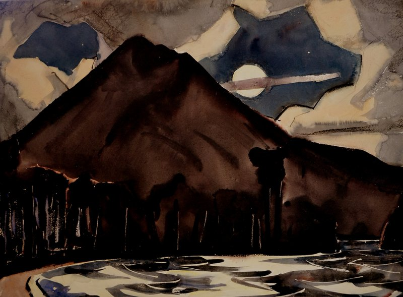 A view of the mountain by James Fitzgerald.