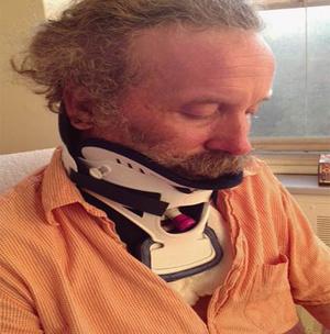 Matthew Dyer, shown in Montreal General Hospital