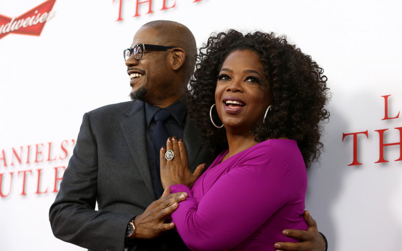 """Actor Forest Whitaker and Oprah Winfrey co-star in """"Lee Daniels' The Butler,"""" a film about a butler serving seven different presidents."""