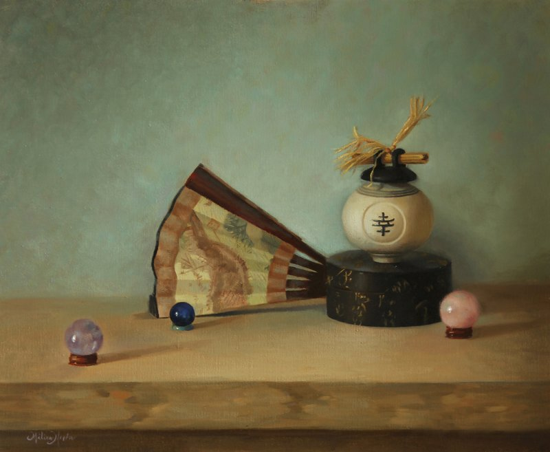 """The Wishing Well"" by Milixa Morón"