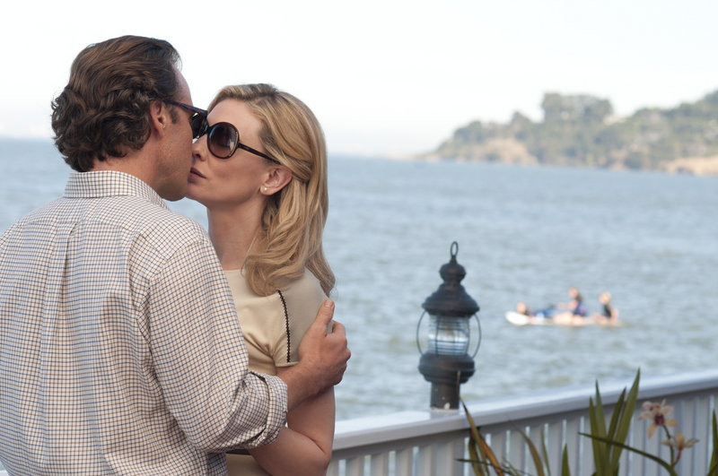 """Peter Sarsgaard and Cate Blanchett in a scene from """"Blue Jasmine."""""""