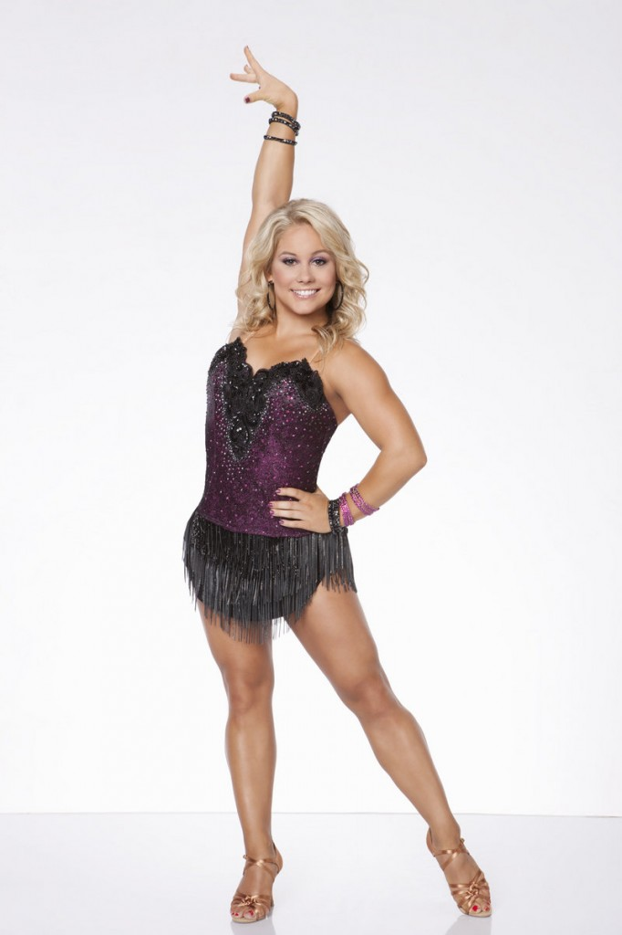 """Olympic gymnastics gold medalist and """"Dancing with the Stars"""" champion Shawn Johnson, above, and """"Dancing with the Stars"""" celebrity pro Dmitry Chaplin, below, star in """"Ballroom with a Twist,"""" a song-and-dance extravaganza running Tuesday through Aug. 31 at the Ogunquit Playhouse."""