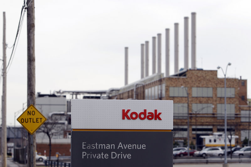 This 2012 photo shows a Kodak factory in Rochester, N.Y. Kodak has struggled with increasing competition, continuing growth in digital photography and growing debt.