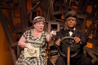 """Tinka Darling and Michael Turner star in """"Driving Miss Daisy,"""" Wednesday through Friday at Hackmatack Playhouse in Berwick."""