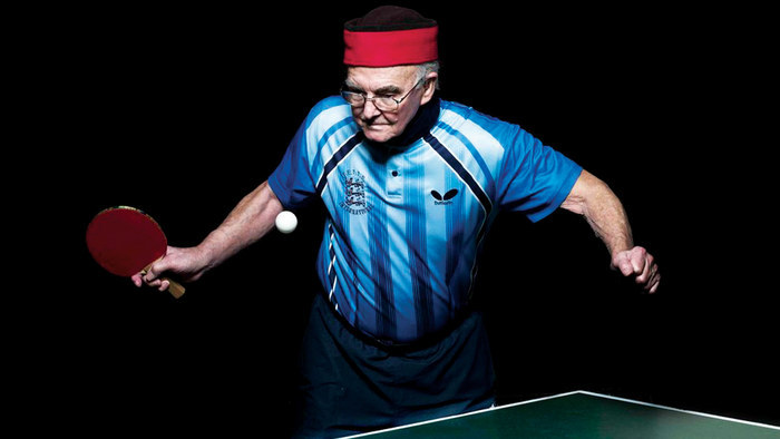 """""""Ping Pong,"""" which follows eight competitors to the Over-80 Table Tennis Championships in China, is featured Thursday in the Portland Public Library's POV Summer Documentary Series."""