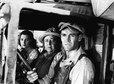 """Henry Fonda as Tom Joad in """"The Grapes of Wrath,"""" for which John Ford won the Best Director Oscar in 1941."""