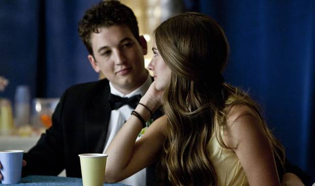 """Miles Teller and Shailene Woodley in """"The Spectacular Now."""""""