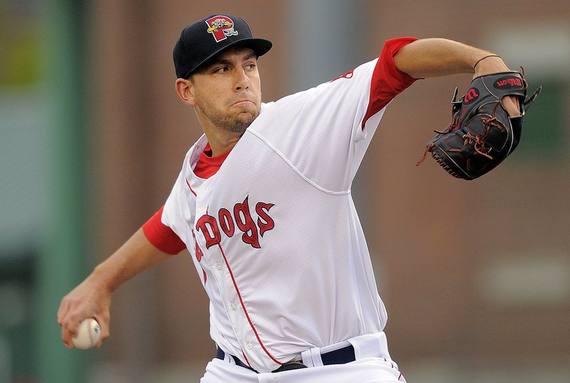 Matt Barnes, who began the season as Boston's top pitching prospect, showed the parent team enough in Portland to merit a promotion to Triple-A Pawtucket.