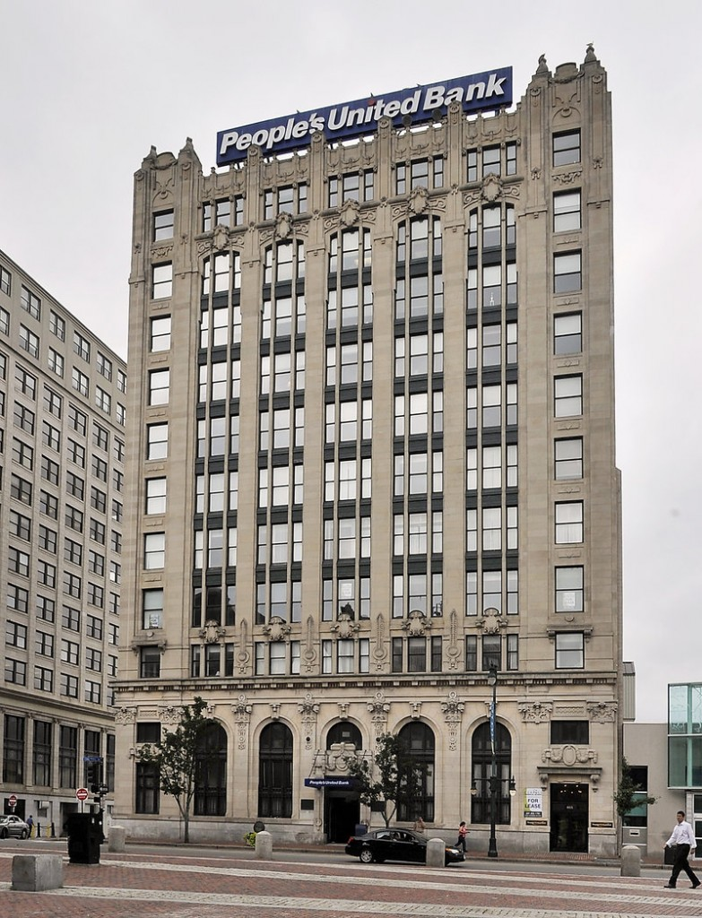 Joseph Soley's 5 Monument Square LLC bought the People's United Bank Building at 465 Congress St. on Aug. 22 for $5.6 million.