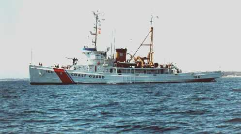 The Tamaroa, previously the USS Zuni, was decommissioned by the Coast Guard in 1994.