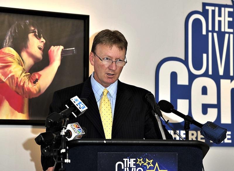 Neal Pratt, chairman of the Cumberland County Civic Center Trustees