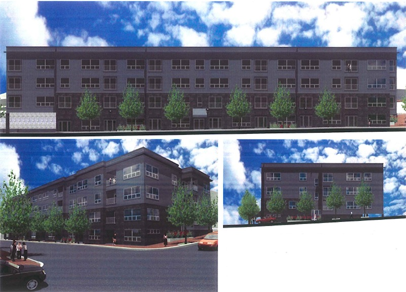 An artist rendering of Phase II on the Bay House development in Portland.