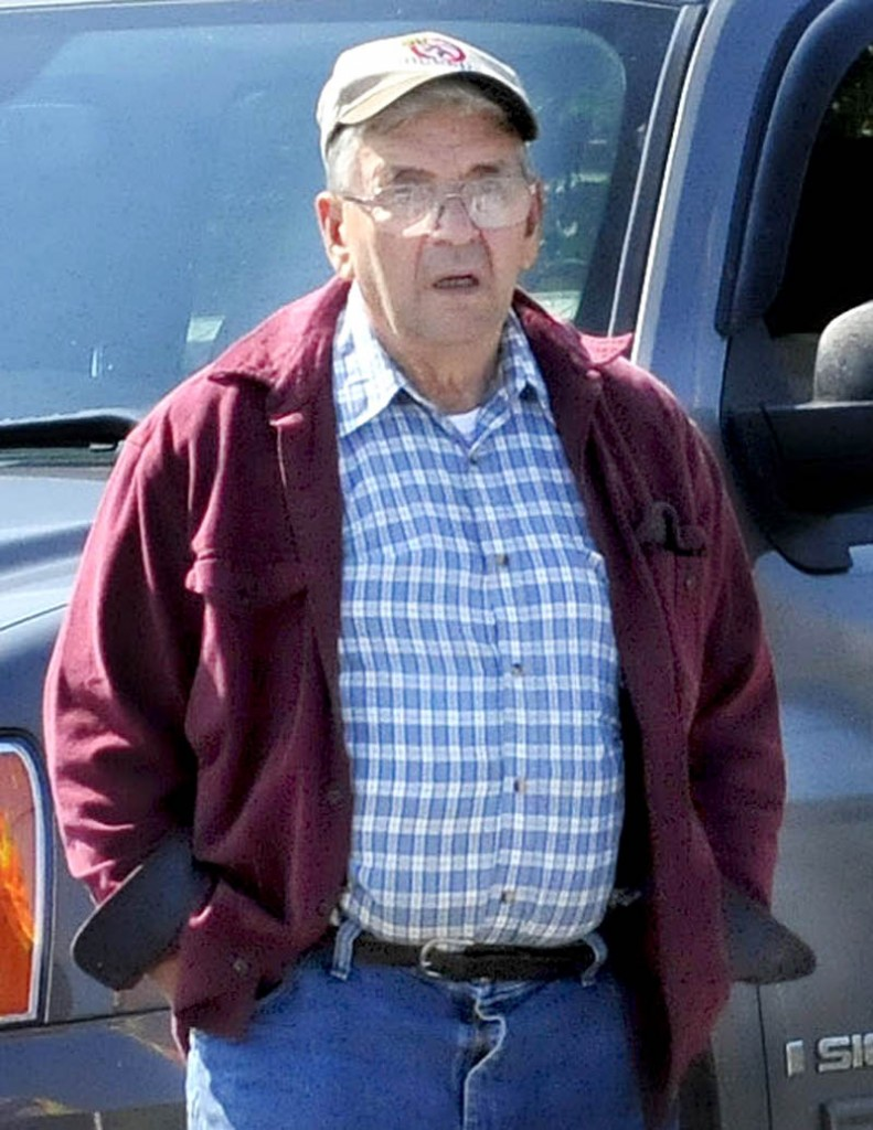 Starks town employee Ronald Giguere, 71, of Solon, was driving a town dumptruck when he hit and killed a man on the side of the road Tuesday.