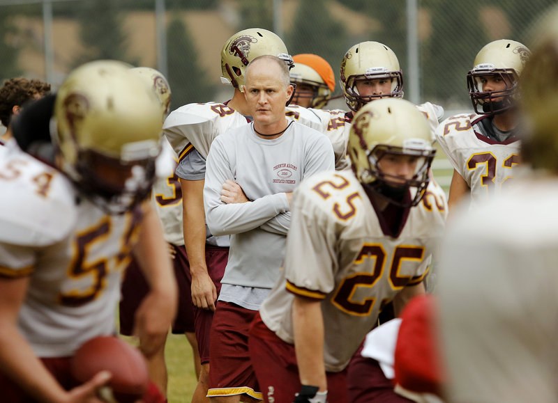Kevin Kezal broke through last season, coaching Thornton Academy to the Class A state championship. This season he says the team is in pursuit of a repeat. That means talent and that means luck. But it can be done, as the past 20 years repeatedly have shown.