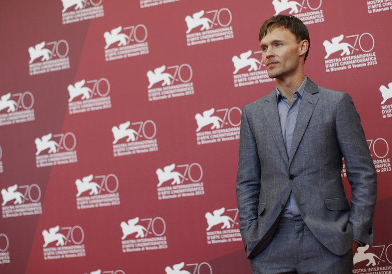 """Actor Scott Haze at the 70th edition of the Venice Film Festival on Saturday, where his film, """"Child of God,"""" premiered."""