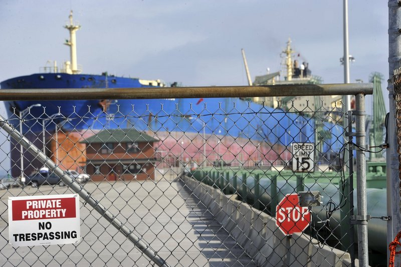 The Portland Pipe Line operation in South Portland is seen as one of the conduits for Canadian tar sands oil, although the pipeline owner has not proposed to do so.