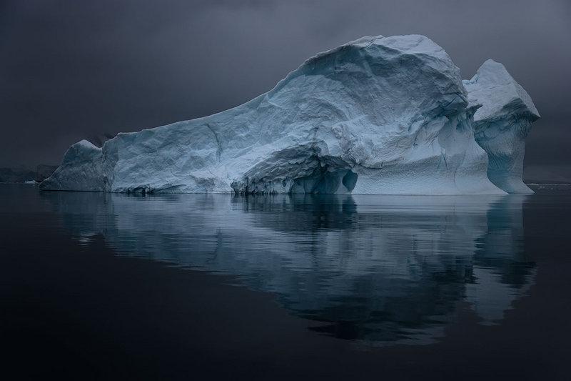"From ""Mentor,"" ""Antarctica XLII,"" 2007, by John Paul Caponigro."