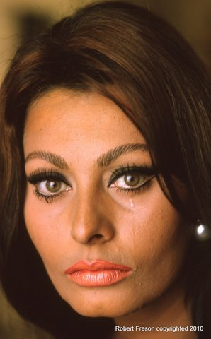 A Robert Freson photo: Actress Sophia Loren.