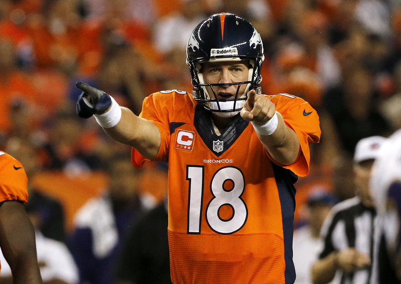 Peyton Manning starts his second season as the Denver Broncos quarterback with maybe his best performance ever in his long distinguished NFL career.