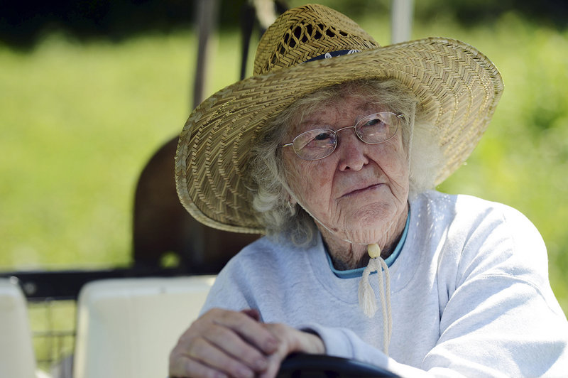"""Louise """"Teddy"""" Randall is an 85-year-old Connecticut farmer who is still enjoying the trials and tribulations after 53 years on her land."""