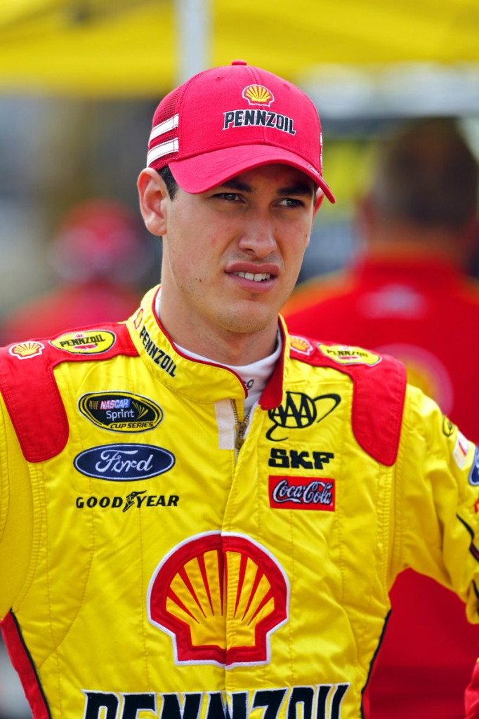 Joey Logano said regardless of what happened at Richmond, he's earned the right to proceed.