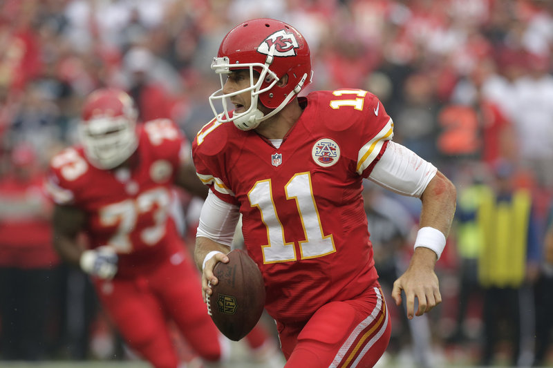 Alex Smith realized from midseason last year that he would be leaving San Francisco and looking for a new home. When the chance came to head to Kansas City, he jumped at it.