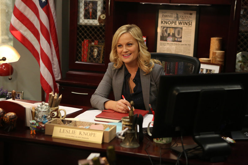"""Amy Poehler in """"Parks & Recreation."""""""