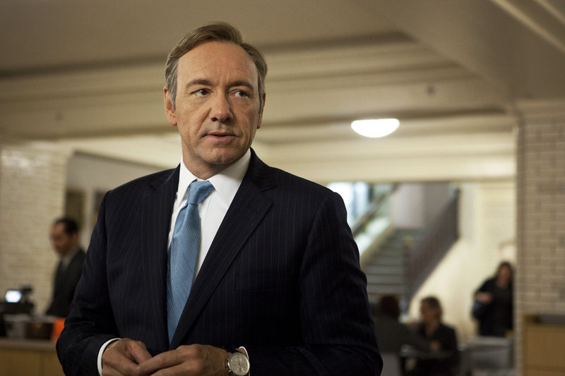"""Kevin Spacey (""""House of Cards"""") is the predicted winner in the top Drama Series acting categories."""