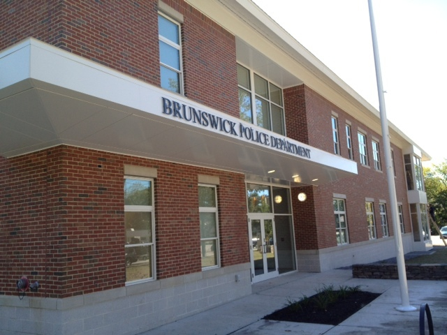 The headquarters of the Brunswick police is more visible and accessible than the former location, according to the police chief.