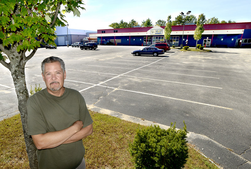 James Grattelo, owner of Joker's Family Fun and Games on Warren Avenue, says the stormwater fee is a big issue for his business, which has a large impervious surface.