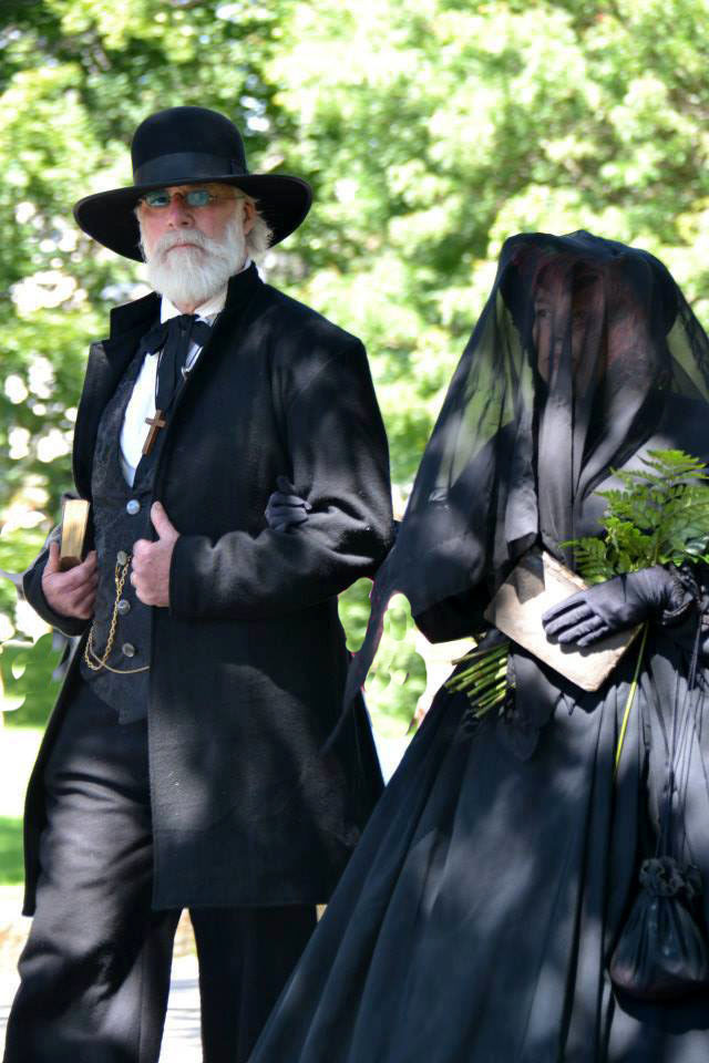 Civil War expert Blaikie Hines, left, of Thomaston will give a history presentation at 7 p.m. Tuesday at the Camden Public Library.