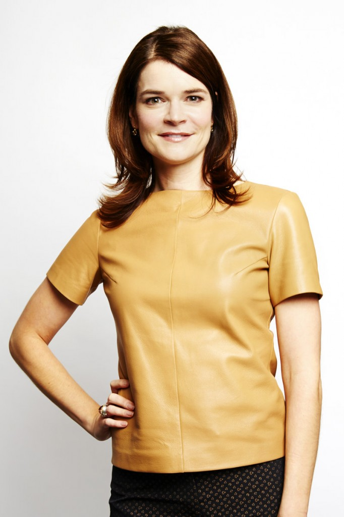 """Actress Betsy Brandt stars in the series """"Breaking Bad,"""" which airs its finale Sunday."""