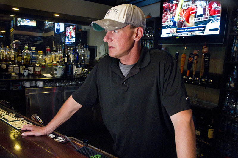 """Mike Fullerton, manager of Rivalries Sports Pub and Grill, says the loss of the Pirates fan base is """"going to be a big hit for us"""" economically."""