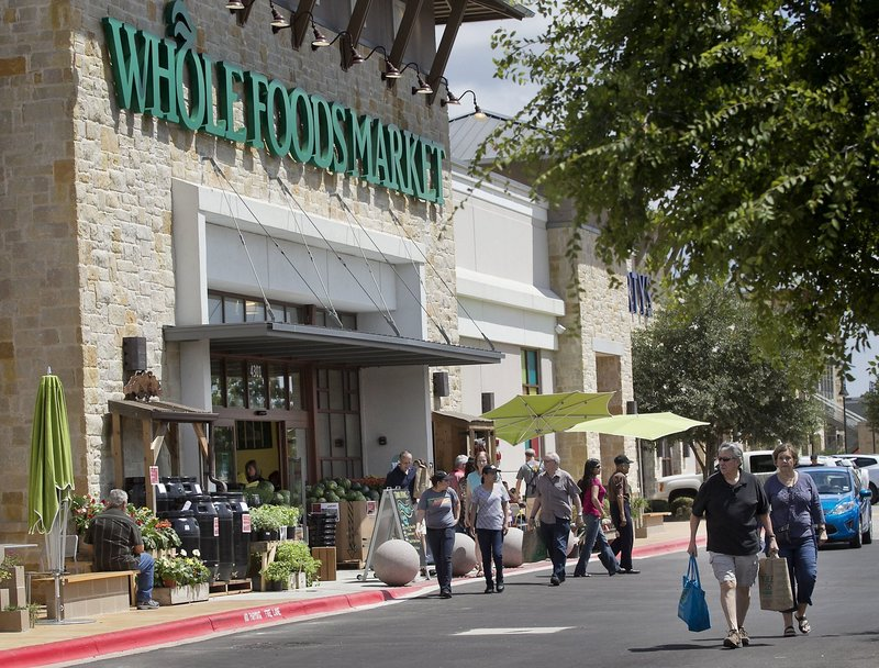 """Austin, Texas-based Whole Foods Market now has more than 350 stores and is posting record profits. """"When we take a step or a make decision, it gets reported on,"""" said Whole Foods co-CEO Walter Robb."""