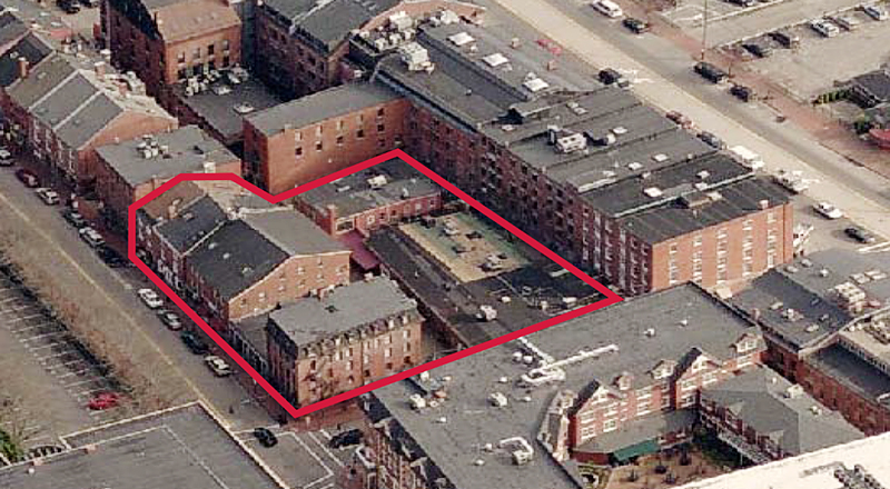 Image provided by Cardente Real Estate shows the Old Port properties that will be auctioned online.