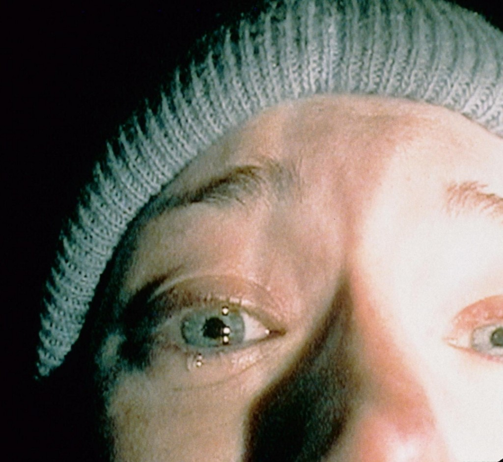 """Heather Donahue in """"The Blair Witch Project,"""" the ending of which still has the power to shock 14 years after its release."""