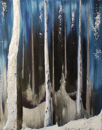 A 2013 acrylic on canvas by Pamala Crabb from