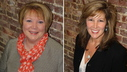 Barbara Whitten, left, is being succeeded by Lynn Tillotson, right, at the Greater Portland Convention + Visitors Bureau.