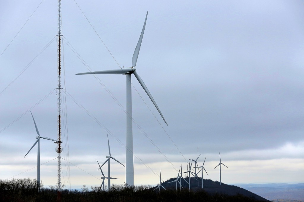Photos by Gabe Souza/Staff Photographer The Mars Hill wind farm, active since 2007, offers Aroostook County residents a glimpse of a large-scale operation. Officials with First Wind say the lessons from Mars Hill led the company to increase turbine setbacks and seek more community input.