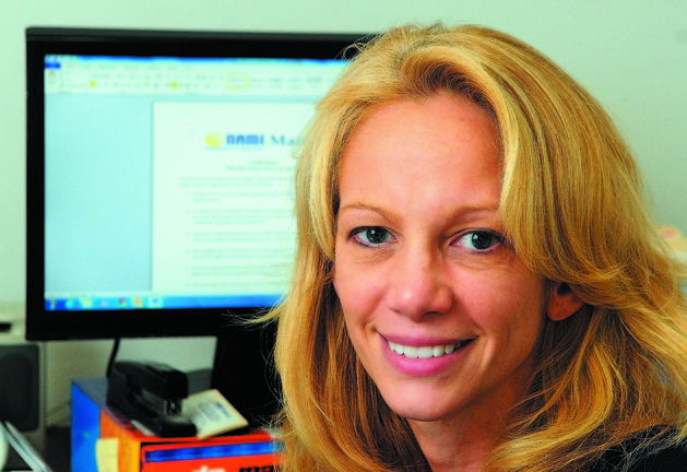 Jenna Mehnert, 43, executive director of NAMI Maine, holds a master's degree in social work and previously worked for the Maine Department of Health and Human Services.