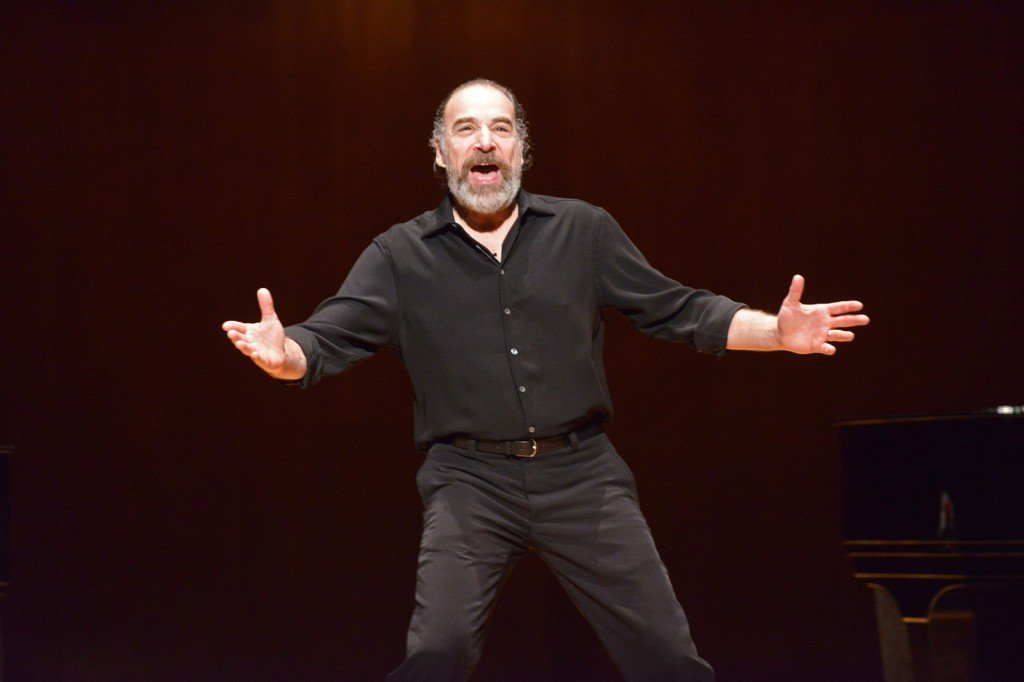 Mandy Patinkin performing on stage in 2012.