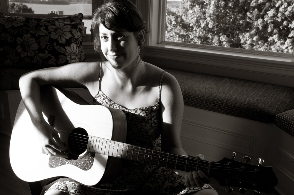"""Portland singer-songwriter Sammie Francis just released a CD called """"The Kite and the Shore,"""" recorded in the apartment she shares with partner Max Taylor."""