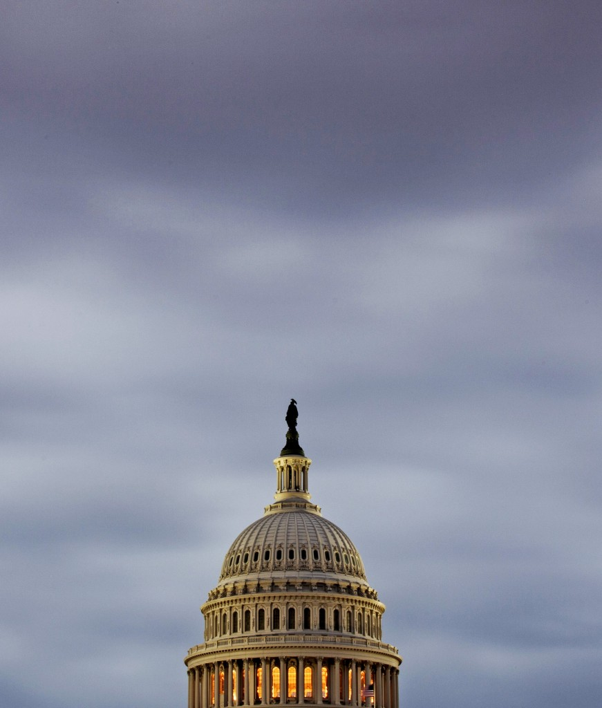 As gray skies hang over the U.S. Capitol, letter writers say the federal shutdown shows there's too much government and too much dependency on government.