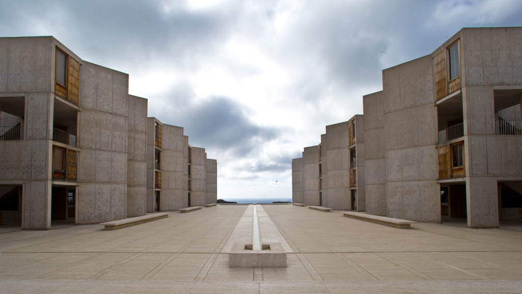"""The Salk Institute, designed by world renowned architect Louis I. Kahn, sits above the Pacific Ocean and adjacent to the glider port and the University of California San Diego in San Diego. The nation's eighth-largest city has matured from its """"Fast Times at Ridgemont High"""" surf days. Today it boasts a burgeoning international art scene, thriving farm-to-table food movement, and a booming bio-tech industry."""